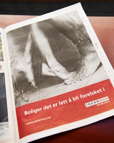 Helsides annonse i Stavanger Aftenblad